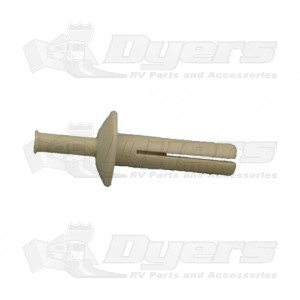 AP Products Almond Plastic Rivet