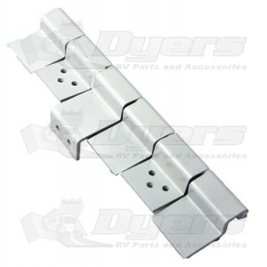 Ap Products White 6 Leaf Door Hinge Assembly Rv Entrance