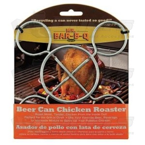 Mr. Bar B Q Beer Can Chicken Roaster