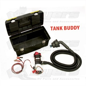 Thetford Sani-Con Tank Buddy Portable Twist on System with 10' Fixed Hose