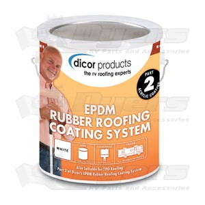 Dicor Epdm Acrylic Rubber Roof Coating Roof Repair