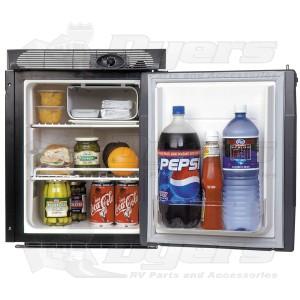 norcold black 1 7 cu ft ac dc refrigerator ac dc refrigerators rh dyersonline com AC DC Refrigerator for Trucks Norcold Refrigerator Freezer Electric