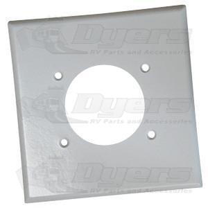 "Diamond 4"" x 4"" Receptacle Plate"