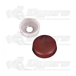 RV Designer Brown Screw Covers