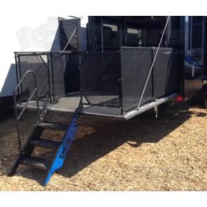 Mor Ryde Toy Hauler Patio Steps Steps Ladders Amp Flag