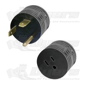 TRC 30 Amp M to 15 Amp F Plug Adapter