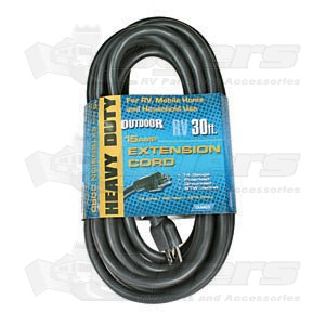 Camco 15 AMP 30' Power Grip Extension Cord