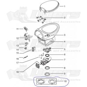 Thetford Toilet Flange Spacer Kit - Dometic, Sealand & Thetford ...