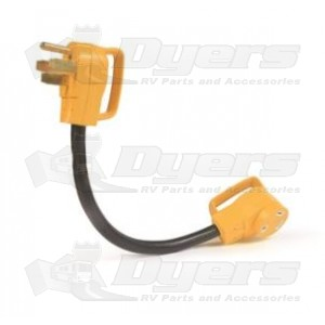 Camco 30 Amp F to 50 Amp M Adapter