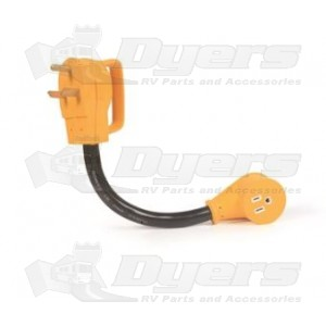 Camco 15 Amp F to 30 Amp M Adapter