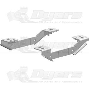 PullRite Heavy Duty Industry Standard Custom Mounting Bracket Kit for Chevrolet/GMC 2011-2017: 2500 & 3500
