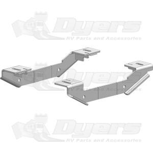 PullRite Industry Standard Custom Mounting Bracket Kit for Chevrolet/GMC 2011-2017: 2500 & 3500