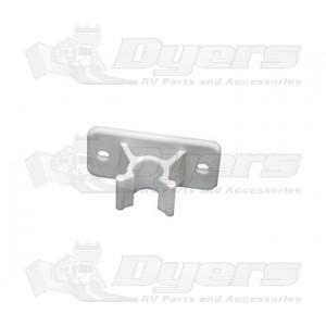 RV Designer White Door Holder Clip