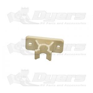 RV Designer Colonial White Door Holder Clip