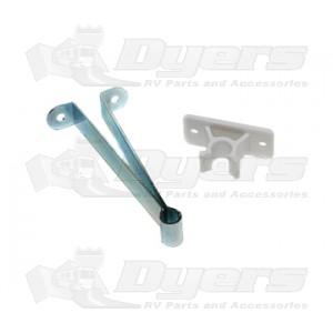 """RV Designer 4"""" Metal Clip-Type Door Holder"""