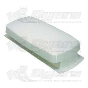 Barker Colonial White Refrigerator Vent - Cap