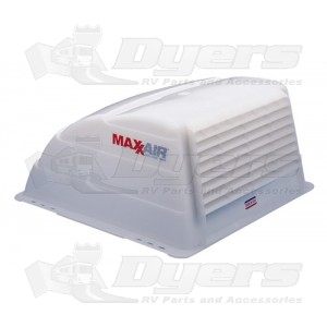 MaxxAir White Roof Vent Cover