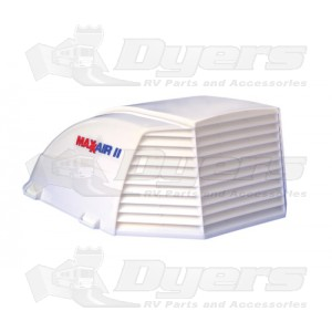 MaxxAir II White Roof Vent Cover