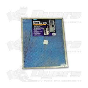 Camco Aluminum Standard Screen Door Grill Screen Door