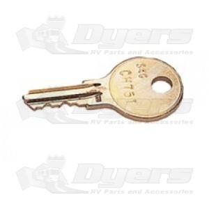 JR Hatch Lock Replacement Lock Keys - New Style