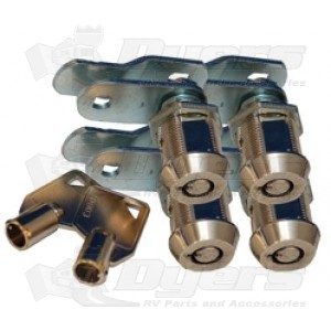 Prime Products 1 1 8 Quot Ace Key Baggage Lock 4 Pack Cam