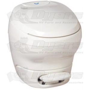 Thetford Bravura White High Profile Foot Flush with Water Saver Toilet