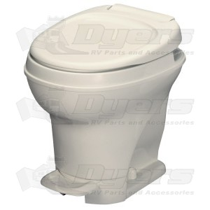 Thetford Aqua Magic V High Profile Foot Flush Bone Toilet