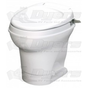 Thetford Aqua Magic V High Profile Hand Flush White Toilet