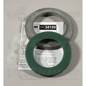 Thetford 34120 Waste Ball Seal Kit Replacement Package For