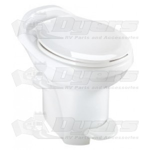 Thetford Aqua Magic Style Plus High Profile with Water Saver White Toilet