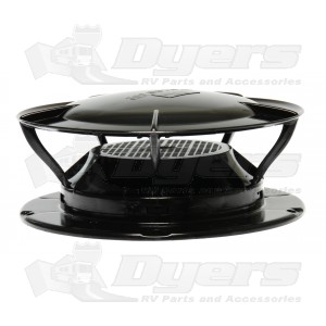 360 Siphon Roof Vent Black