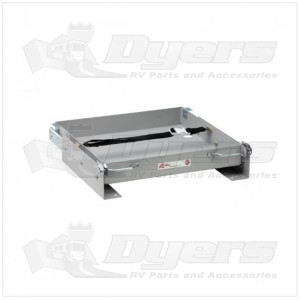 "Lippert Components 15-1/2"" x 15-1/8"" Utility Battery Tray"