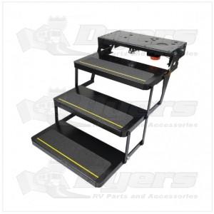 Lippert Components Series 23 Triple Electric Folding Steps