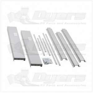 "Lippert Components Kwikee® Super Slide II 44"" Width Trim Kit"