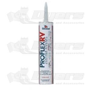 Geocel Crystal Clear 10 oz. (CA SAFE) Proflex RV Flexible Sealant