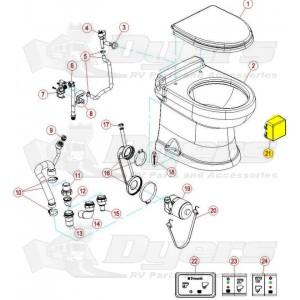 Dometic 8700 MasterFlush Toilet Control Board Module - Dometic ...