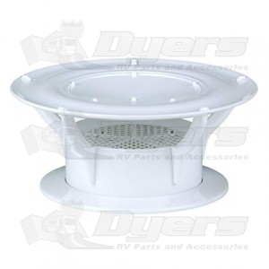Lippert Components Holding Tank 360 Siphon Roof Vent White