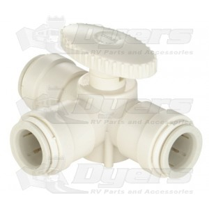 "SeaTech 1/2"" CTS 3-Way Valve"