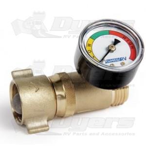 camco water pressure regulator with gauge regulators fresh water connecti. Black Bedroom Furniture Sets. Home Design Ideas