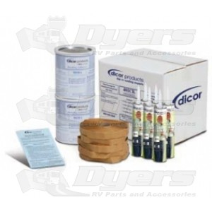 Dicor White Rubber Roof Installation Kit Rubber Roof