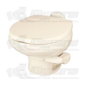 Thetford Aqua Magic Style II Bone Low Profile with Water Saver Toilet