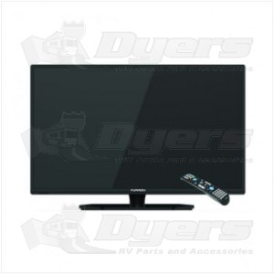 "Lippert Components Furrion 24"" HD LED TV w/ Universal Remote (FEHS24T8A)"