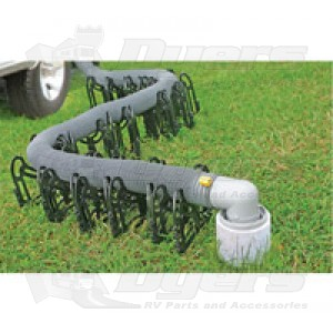 Camco 15' Sidewinder Plastic Sewer Hose Support