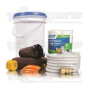 Camco Level 7 RV Starter Kit Bucket