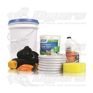 Camco Level 2 RV Starter Kit Bucket