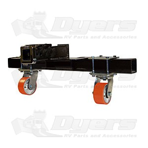 "Ultra-Fab Hitch Mount 4"" Swivel Skid Wheel"