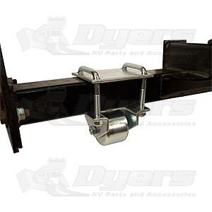 "Ultra-Fab Hitch Mount 2-1/2"" Steel Rollers"