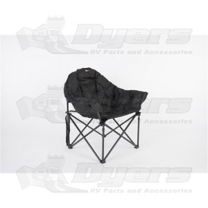 Faulkner Black Big Dog Bucket Chair  sc 1 st  Dyers - RV & Faulkner Black Big Dog Bucket Chair - Tables u0026 Chairs - Outdoor ...