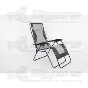 Faulkner Laguna Gray/Black XL Recliner