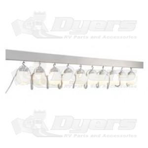 Polymer 10 White Globe Lights Awning Lights Amp Track